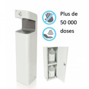 no contact hydroalcoholic gel dispenser
